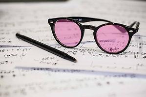 Tinted glasses on music sheet.jpg