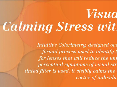 Calming Stress with Colour
