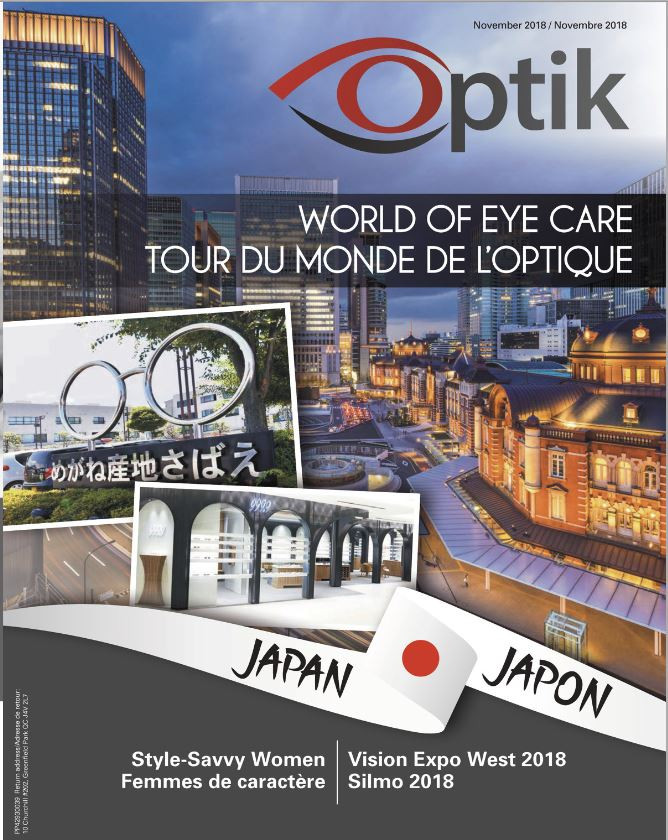 Cover of the November edition of Optik Magazine