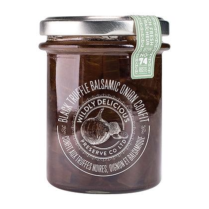 Black Truffle Balsamic Onion Confit