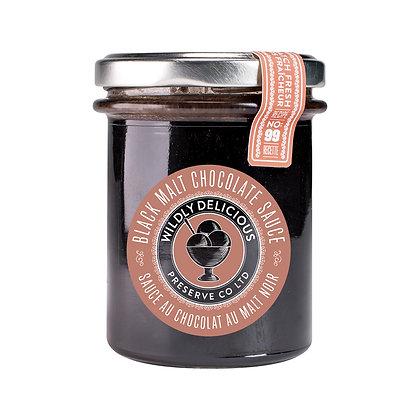 Black Malt Chocolate Sauce