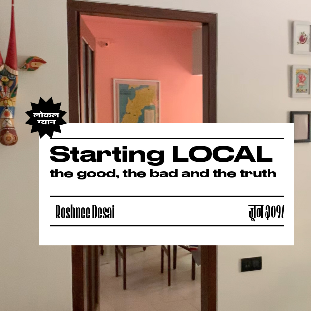 Starting LOCAL, the good, the bad and the truth