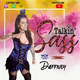 WCW Star Daffney Talks Miss Elizabeth, WCW, and Holding Men's Gold on Talkin' Sass