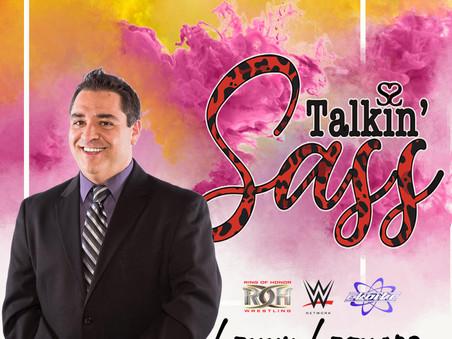 ROH/Shimmer/Shine/EVOLVE Announcer Lenny Leonard Checks in with Steph for Talkin' Sass