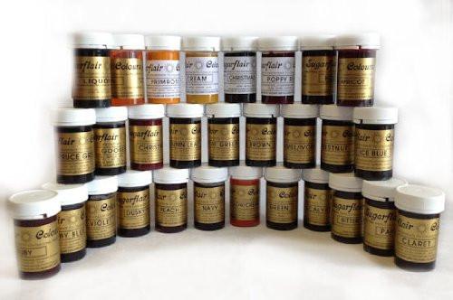 Sugarflair paste colours
