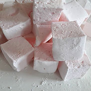 Pink gin marshmallows