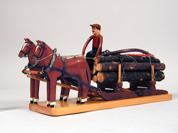 Le transport des billes de bois