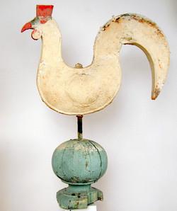 Wind vane rooster