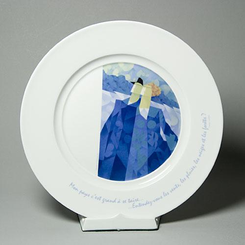 Assiette - Le Sauteur-1198