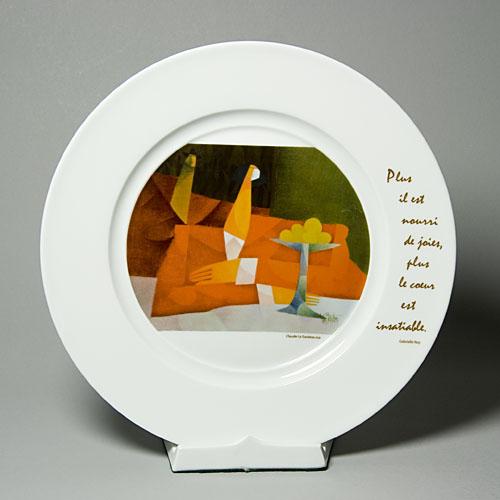 Assiette - Le Sauteur-1199
