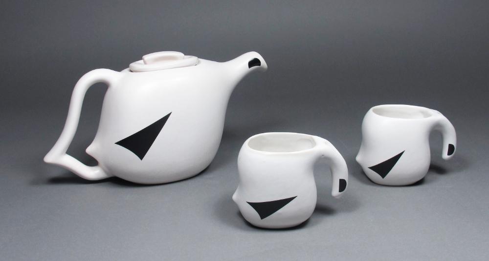 Service à thé, Série Perdrix