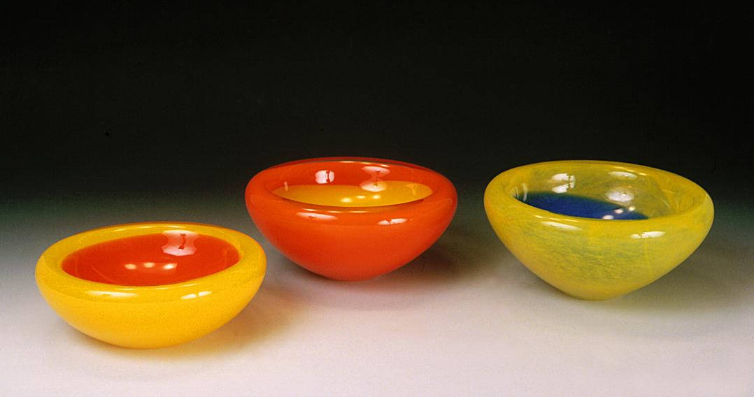 Trio de bols à double parois