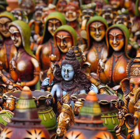 Handicrafts idols