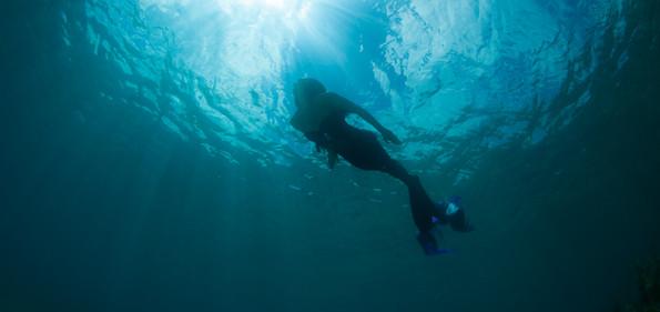 Mermaid at St. John US Virgin Island