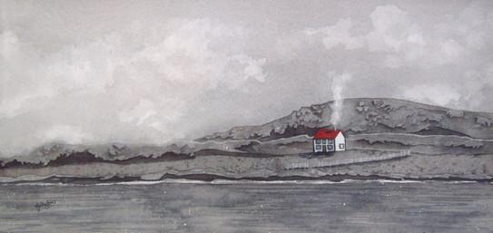White House in Grey (Tilting, Fogo Island)