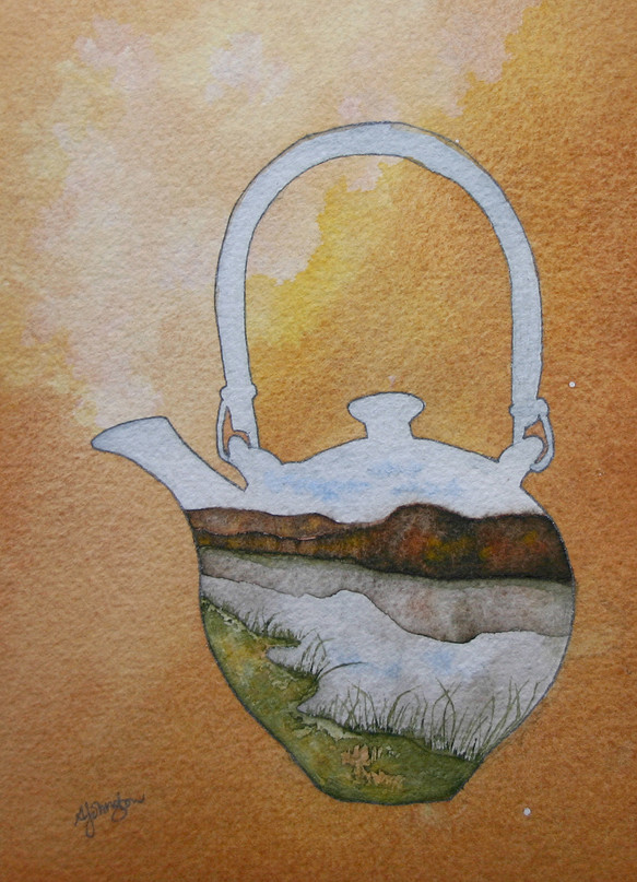 Teapot - Anne's River of Warmth
