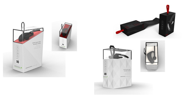 Plantronics Voyager Packaging Concepts