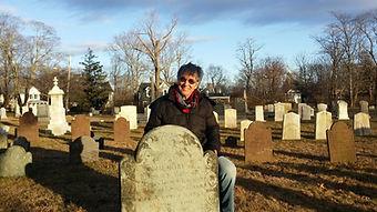 Gravestone Preservationist Karen Kiaer