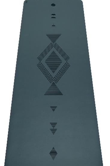 Infinity Mat 5mm Tribal Charcoal