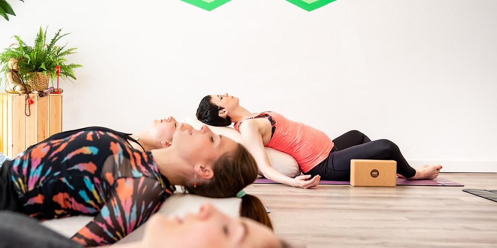 FRIDAY SPECIAL: Restorative Yoga