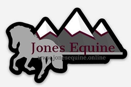 Jones Equine Sticker