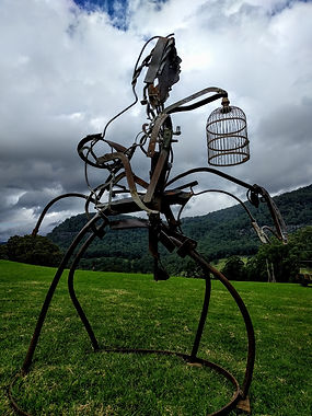 Ned and Kate Lantern Cage in situ (960x1