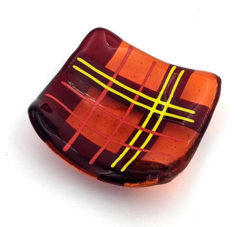 Trinket Tray - Red/Orange/yellow