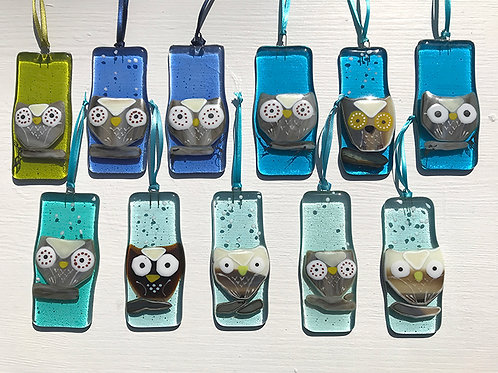 Owl - Decoration/light catcher