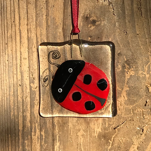 Ladybird - Decoration/light catcher