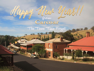 Happy New Year from Carcoar: The Town Time Forgot