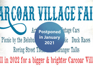 Carcoar Village Fair Rescheduled for 2022