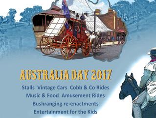 Carcoar Village Fair - Australia Day 2017
