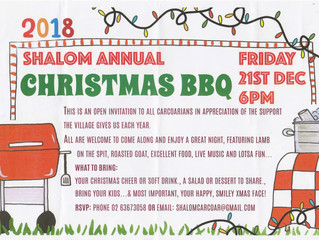 Shalom Christmas BBQ