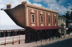 Belubula Street frontage finished