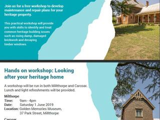 Heritage Workshops