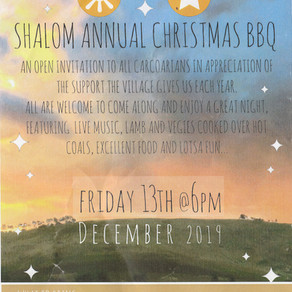 Shalom Annual Christmas Barbeque
