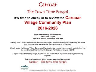 Carcoar Village Community Plan 2016-2026
