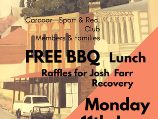 Free BBQ to Support Josh