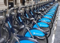 Bike retals in London.