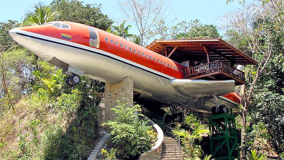 Jet Plane Cafe in Costa Rica