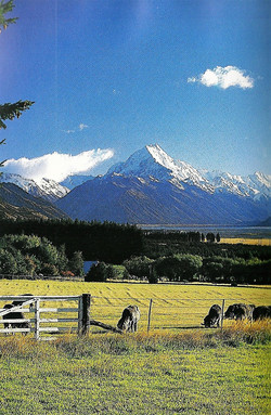 South Island Mountains