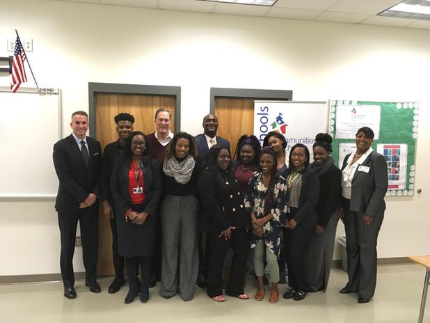 Fulton County Schools' Superintendent Jeff Rose take tour of CIS of Atlanta Program