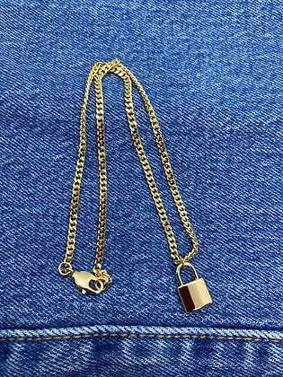 Lock Me Down Necklace