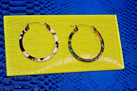 Truth Collection/ Resin Hoops