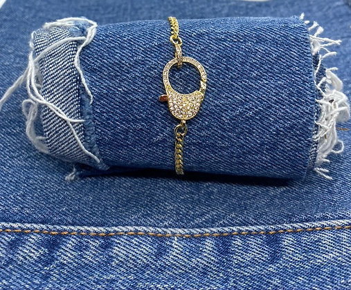 Locked Up Bracelet