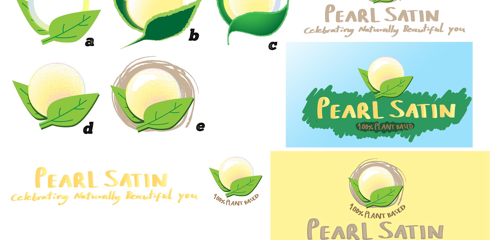 Pearl Satin - initial sketchings