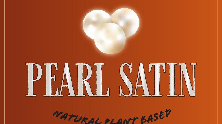 Pearl Satin logo redesign