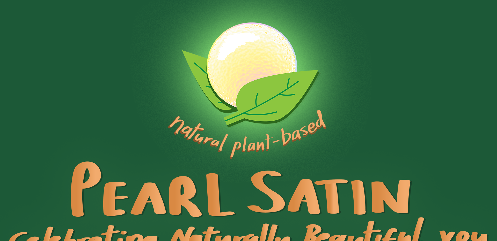 Pearl Satin concept banner