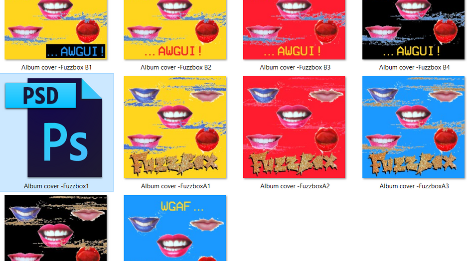 Variations on Fuzzbox's EP Design