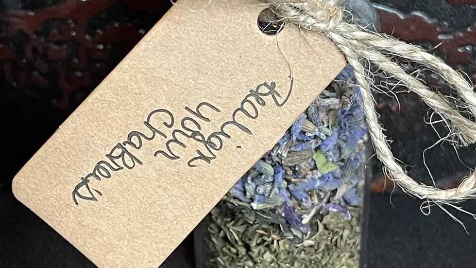 Realign your Chakras spell jar
